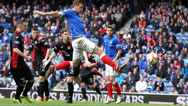 Scottish Football - Rangers stroll to Clyde victory