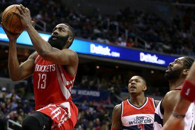 James Harden is still just ahead of Stephen Curry in the NBA MVP race