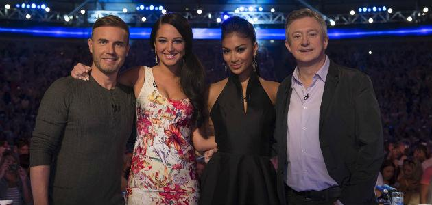 X Factor... poor ratings may cause shake-up (Copyright: ITV)