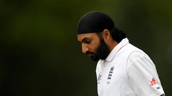 Monty Panesar took 11 wickets in the second Test against India