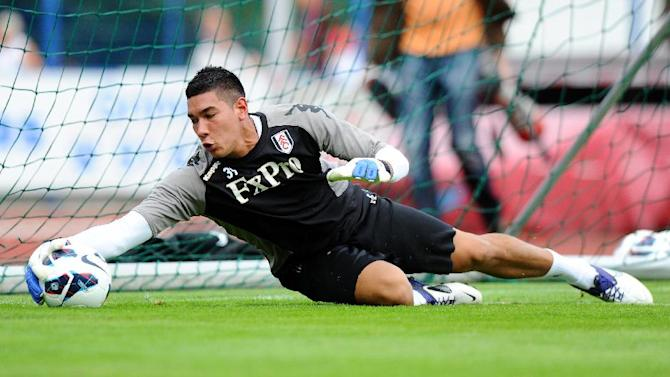 Fulham's Neil Etheridge has joined Bristol Rovers on loan