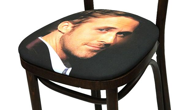 Celebrity Face Chairs