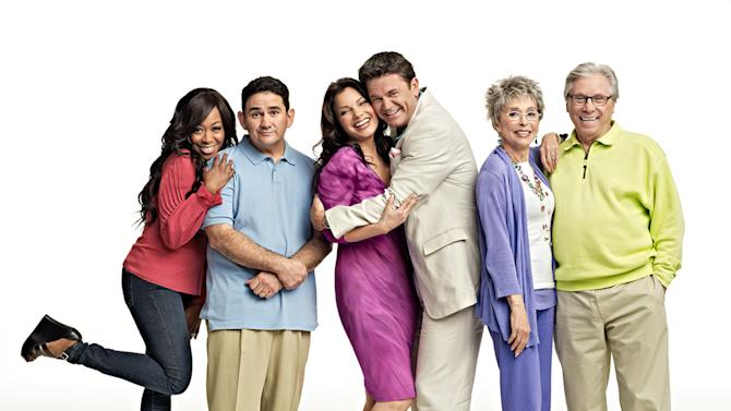 "The cast of ""Happily Divorced."""