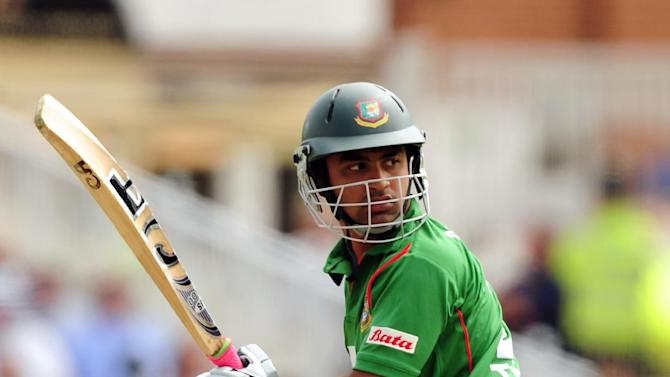 Tamim Iqbal top scored for Bangladesh with 58 to help them to a resounding victory