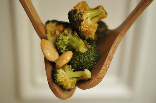 Roasted Broccoli with Smoked Paprika Vinaigrette