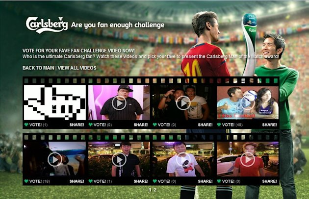 Carlsberg Man of the Match Facebook Challenge