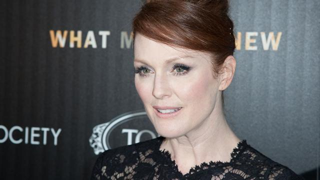 Julianne Moore on playing faded rock star