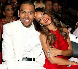 """Rihanna, Chris Brown """"Very Affectionate"""" at Grammys 2013 Afterparty"""