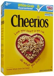 Good For Your Heart: Cheerios Ad Holds Strong Despite Criticism image cheerios box 213x300
