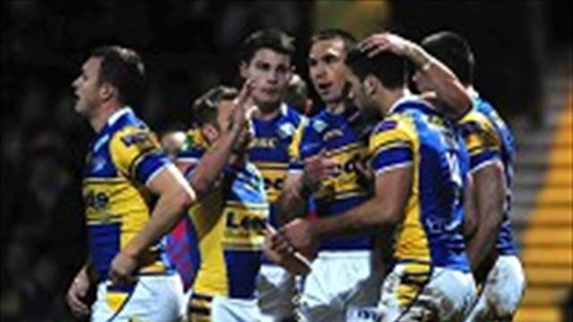 Rugby League - Moon on song against Salford