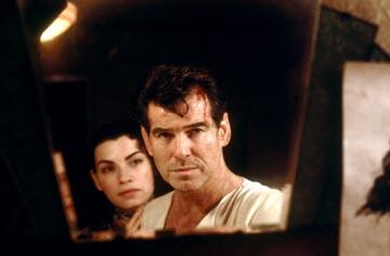 Julianna Margulies and Pierce Brosnan in MGM's Evelyn
