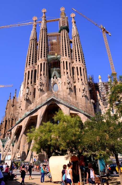 Travel Barcelona Spain Sagrada Familia