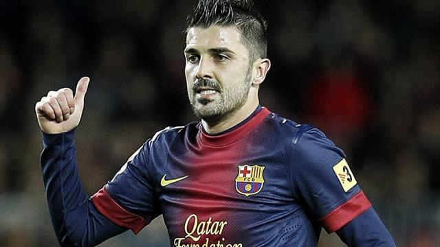 Liga - Atletico Madrid set to present David Villa