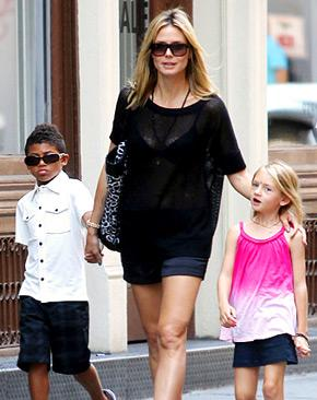 "Heidi Klum: Having 4 Kids Is ""a Huge Responsibility"""
