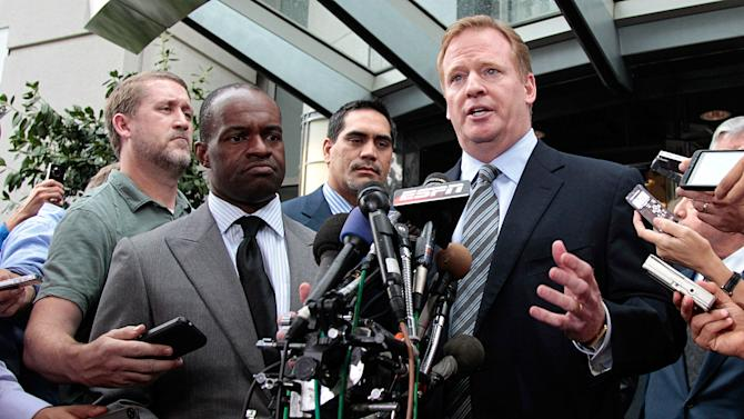 NBA commissioner Adam Silver faces the nation; why can't Roger Goodell do the same?