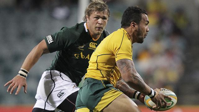 Rugby - South Africa's Vermeulen out for two months with knee injury