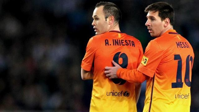 Liga - Messi, Iniesta, Ancelotti offer encouragement to Vilanova