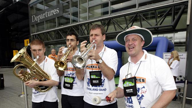 UEFA have said the England band will be allowed into stadiums