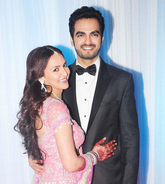 Esha Deol Reception