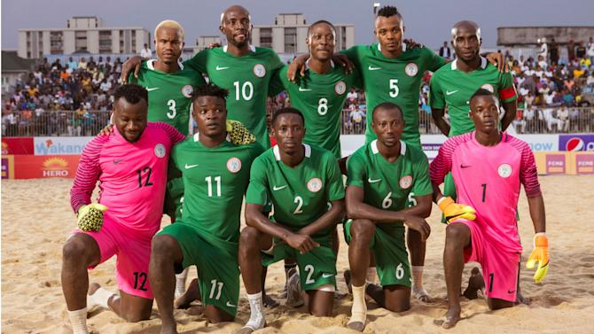 Beach Soccer World Cup: Nigeria draw Italy and Mexico