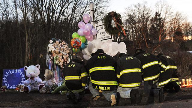 Conn. Community Mourns Victims of Sandy Hook Elementary School Massacre