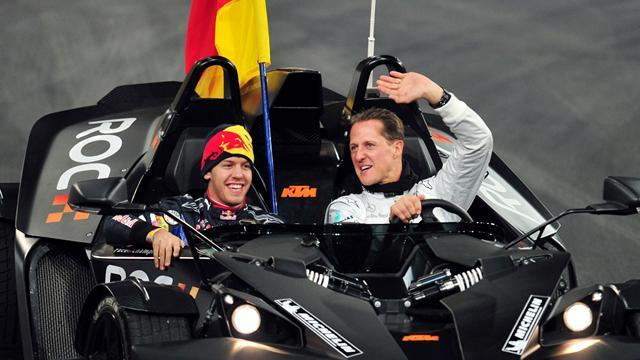 Motorsports - Schumacher won't quit Race of Champions