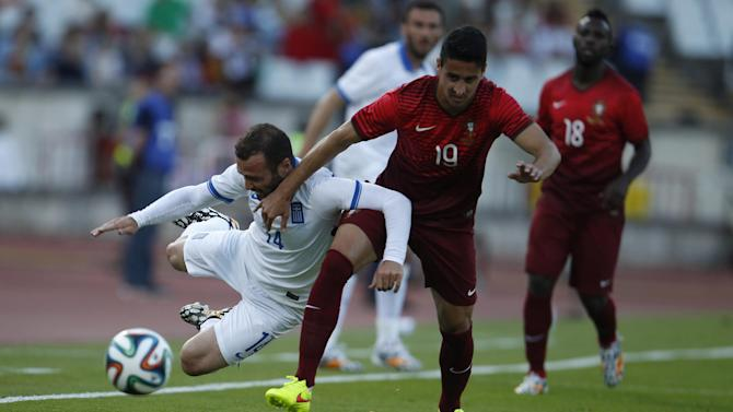 World Cup - Portugal play out goalless draw with Greece