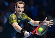 Andy Murray during his semi-final match against Roger Federer on day seven of the ATP World Tour Finals on November 11. While Murray was supposed to be the home fans' favourite, it was Federer who raised the biggest cheers from the audience