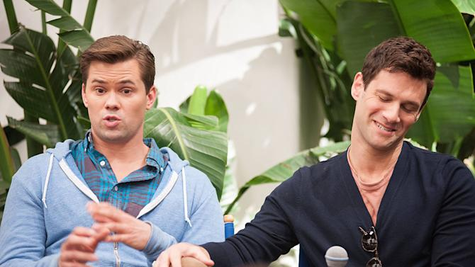 """The New Normal"" Andrew Rannells and Justin Bartha"