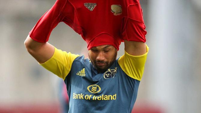 Casey Laulala to leave Munster at the end of the season