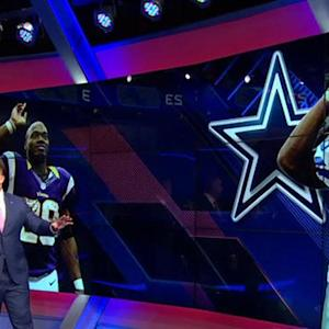 What would Minnesota Vikings running back Adrian Peterson's impact be with the Dallas Cowboys?