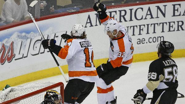 Streit's OT goal lifts Flyers over Penguins 4-3