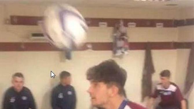 Scottish Premiership - St Johnstone players pull of superb game of changing room head-tennis