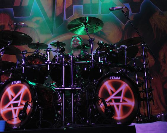 Anthrax drummer Charlie Benante and wife arrested