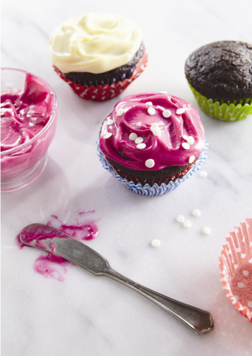 Red Velvet Cupcakes with Beets