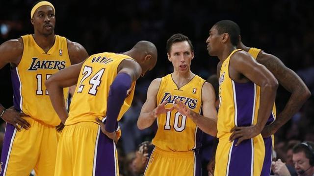 Basketball - Lakers guard Nash optimistic about play-off return