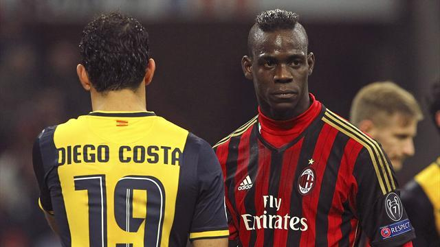 Serie A - Balotelli ruled out of Juve and Spain clashes
