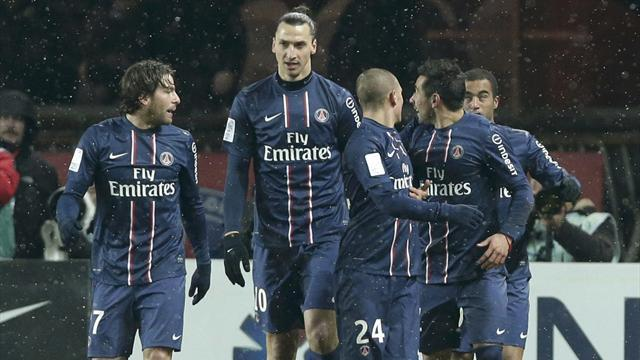 Ligue 1 - PSG lose Menez and Verratti for St Etienne clash
