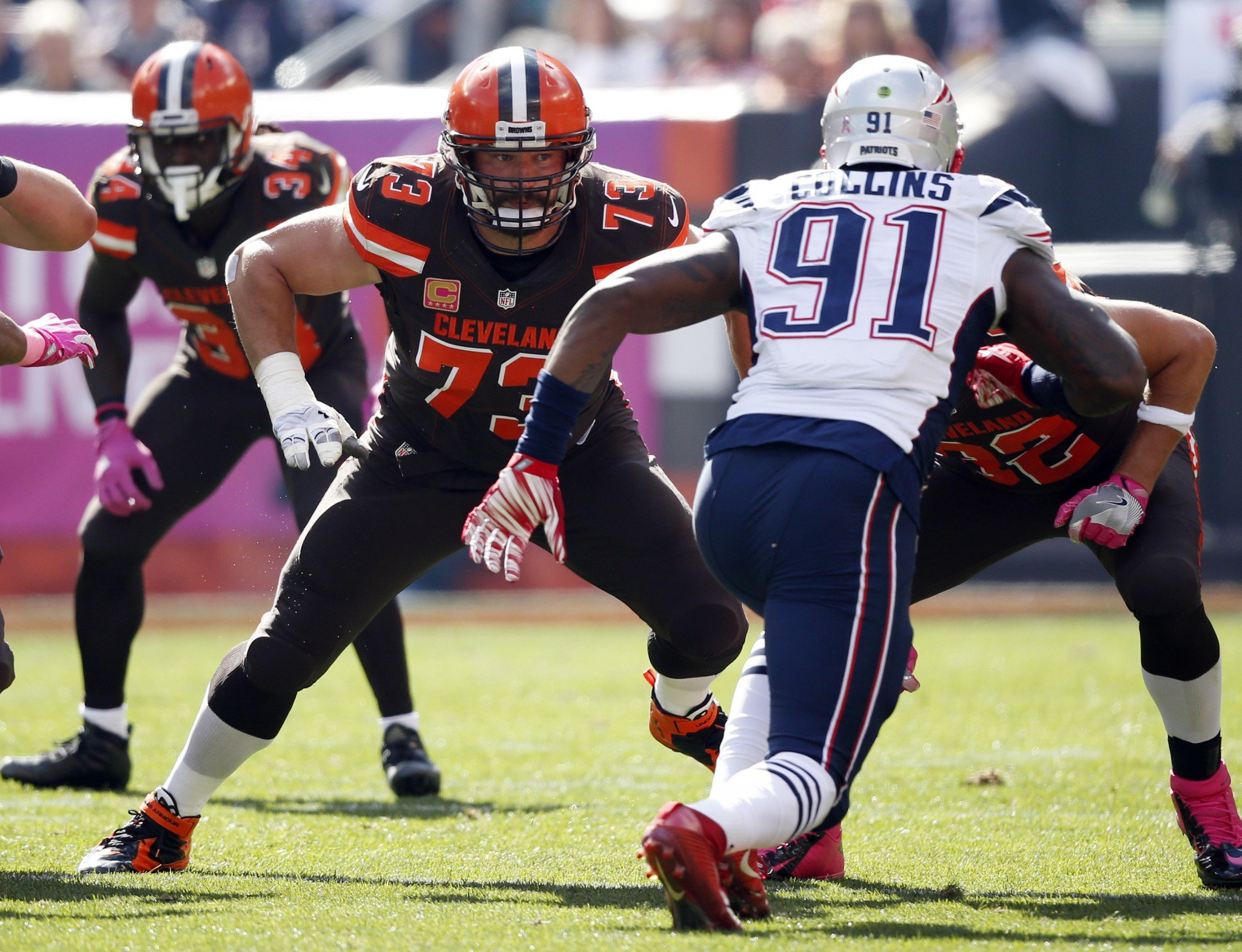 Trade surprise: Patriots reportedly send LB Jamie Collins to Cleveland