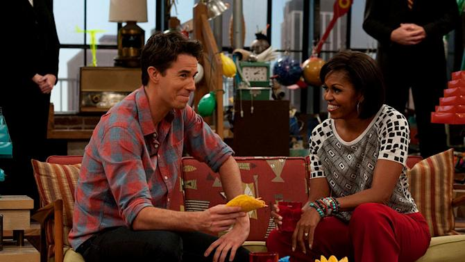"""iMeet The First Lady"" episode featuring the First Lady Of The United States Michelle Obama on ""iCarly."""