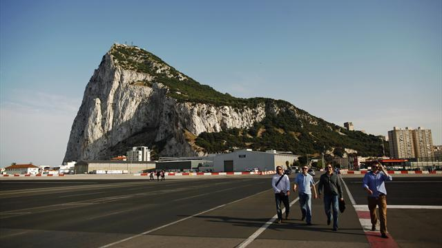World Football - Gibraltar take part in first European draws