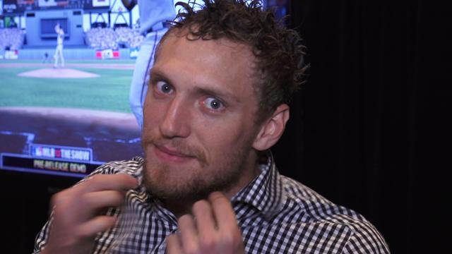 Hunter Pence: gaming, Super Bowl predictions & MLB 13: The Show