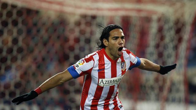 Liga - Real Madrid supremo jokes about signing Falcao