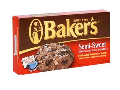 Baker's Semi-Sweet All Purpose Baking Chocolate