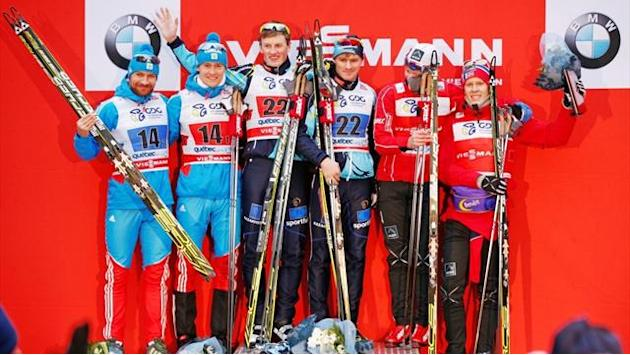 Cross-Country Skiing - Kazakh pair claim World Cup team sprint