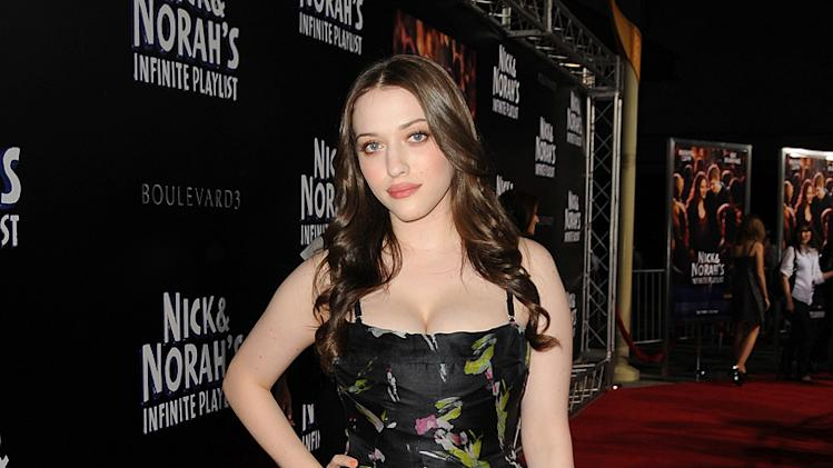 Nick and Norah's Infinite Playlist Premiere LA 2008 Kat Dennings