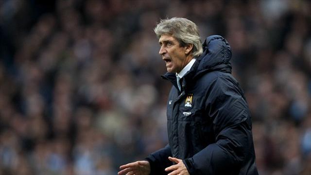 Premier League - Pellegrini plays down quadruple talk