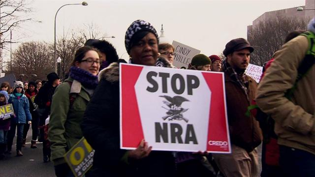 Gun control advocates march on Washington