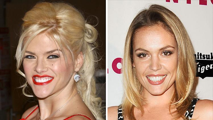 Anna Nicole Smith and Agnes Bruckner