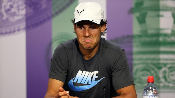 Tennis - Nadal withdraws from Toronto, Cincinnati with injury